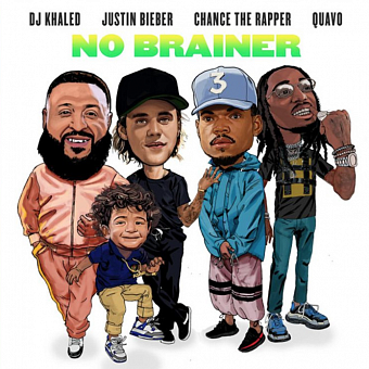 DJ Khaled, Chance the Rapper, Quavo, Justin Bieber - No Brainer ноты для фортепиано