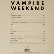 Vampire Weekend - One (Blake's Got A New Face) ноты для фортепиано
