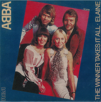 ABBA - The Winner Takes It All ноты для фортепиано