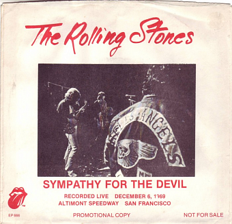 The Rolling Stones - Sympathy for the Devil ноты для фортепиано