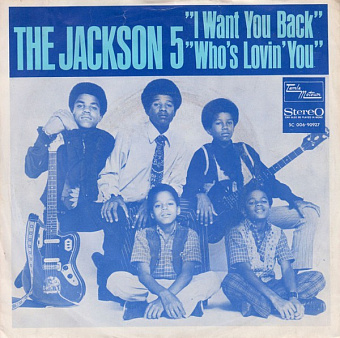 The Jackson 5 - I Want You Back ноты для фортепиано