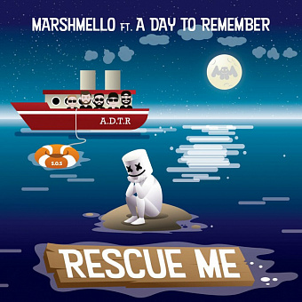 Marshmello, A Day to Remember - Rescue Me ноты для фортепиано