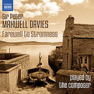 Ноты Peter Maxwell Davies - Farewell to Stromness, Op. 89 No. 1