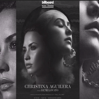 Christina Aguilera, Demi Lovato - Fall In Line ноты для фортепиано