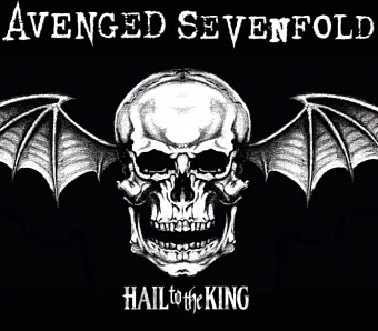 Avenged Sevenfold - Hail to the King ноты для фортепиано