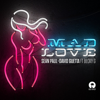David Guetta, Becky G, Sean Paul - Mad Love ноты для фортепиано