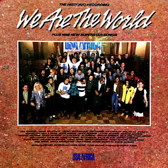 USA for Africa - We are the World ноты для фортепиано