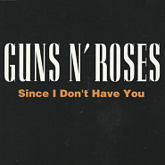 Guns N' Roses - Since I Don't Have You ноты для фортепиано