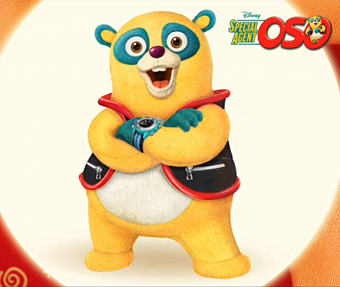 Joey Gian - Special Agent Oso Theme ноты для фортепиано