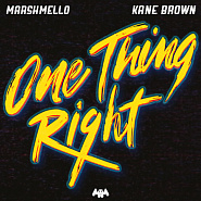 Kane Brown и др. - One Thing Right ноты для фортепиано