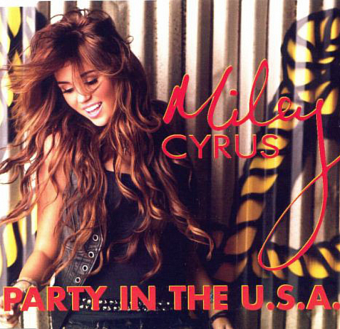 Miley Cyrus - Party in the U.S.A. ноты для фортепиано