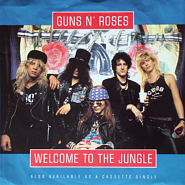 Guns N' Roses - Welcome To The Jungle ноты для фортепиано