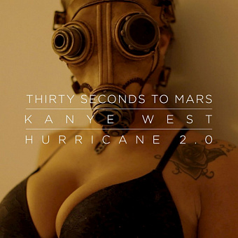 Thirty Seconds to Mars, Kanye West - Hurricane ноты для фортепиано
