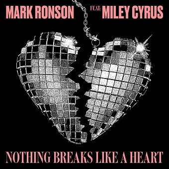 Mark Ronson, Miley Cyrus - Nothing Breaks Like a Heart ноты для фортепиано