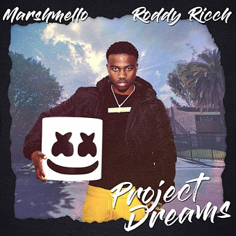 Marshmello, Roddy Ricch - Project Dreams ноты для фортепиано