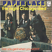 Paper Lace - The Night Chicago Died ноты для фортепиано