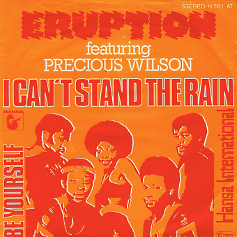 Eruption, Precious Wilson - I Can't Stand The Rain ноты для фортепиано