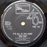 The Four Tops - It's All In The Game ноты для фортепиано