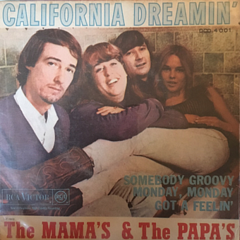 The Mamas & the Papas - California Dreamin' ноты для фортепиано