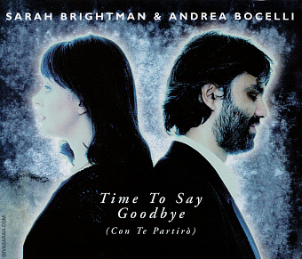 Sarah Brightman, Andrea Bocelli - Time to Say Goodbye ноты для фортепиано