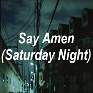 Panic! At the Disco - Say Amen (Saturday Night) ноты для фортепиано