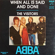 ABBA - When All Is Said And Done ноты для фортепиано